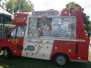 ice cream vans for hire